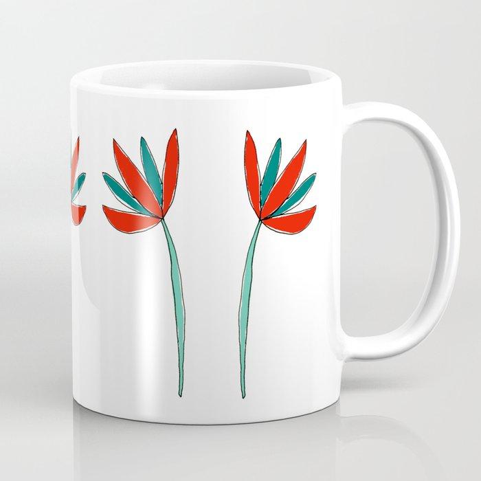 Colorful Botanical Coffee Mug Coffee Mug