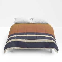 Retro Sunset Comforters