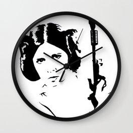 Rebel Princess Wall Clock