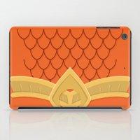 aquaman iPad Cases featuring I Am Aquaman by Alex Boatman