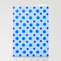 polka dots Stationery Cards featuring Polka Dots by Texture