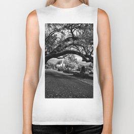 Treeful Cementery Biker Tank