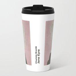 Charlotte Brontë Jane Eyre - Minimalist literary design Travel Mug