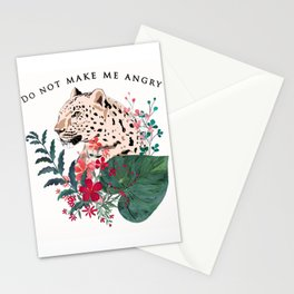 Leopard in the jungle. 2 Stationery Cards