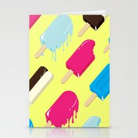 popsicle Stationery Cards featuring Popsicle by Sher Mavro ART