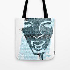 in the face of madness Tote Bag