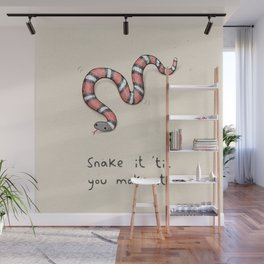 Snake It Wall Mural