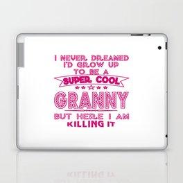 Super Cool GRANNY is Killing It! Laptop & iPad Skin