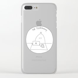 The TourBunny Circle Clear iPhone Case
