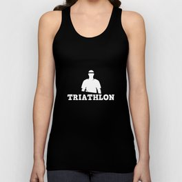Triathlon - swimming, bike, running, gift Unisex Tank Top