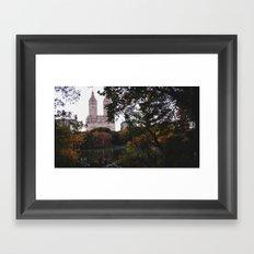Central Park Fall Series 1 Framed Art Print