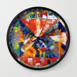 Off The Air Wall Clock