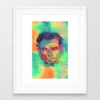 leonardo dicaprio Framed Art Prints featuring Leonardo Dicaprio by Rene Alberto