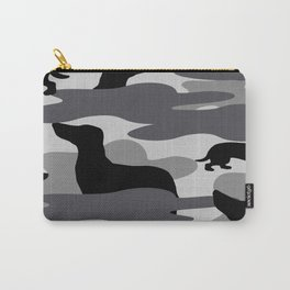 Grey Camo Weiner Dogg Carry-All Pouch