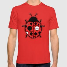 bugs SMALL Red Mens Fitted Tee