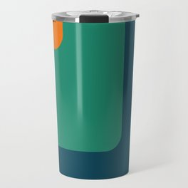 Trendy color palette Travel Mug