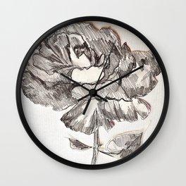 ROSE TOO Wall Clock