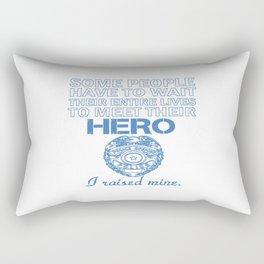 Police Officer's Mom Rectangular Pillow