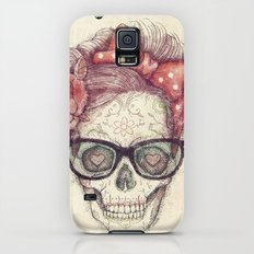 Hipster Girl is Dead Galaxy S5 Slim Case