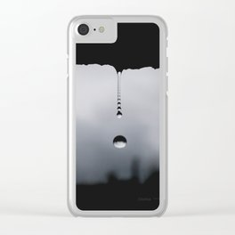 forever falling Clear iPhone Case