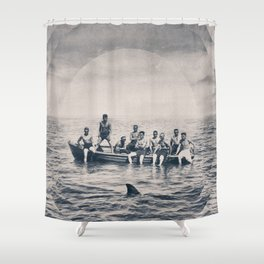We are brave Shower Curtain
