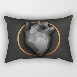 Golden Circle Rectangular Pillow