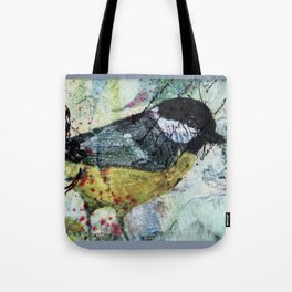 Great but tiny tit! Tote Bag