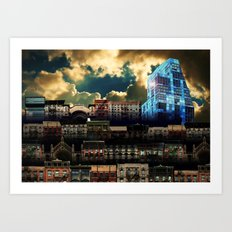 Lower East Side Nostalgia - New York Art Print
