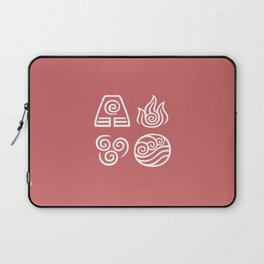 Bending All Four Elements – Fire Laptop Sleeve