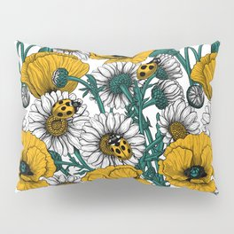The meadow in yellow Pillow Sham
