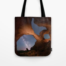 Double Arch in Arches National Park 2 Tote Bag