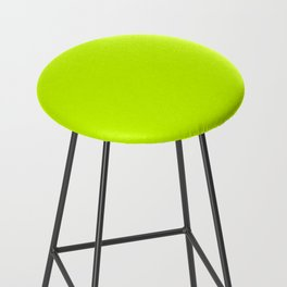 Bright green lime neon color Bar Stool