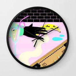 having fun Wall Clock