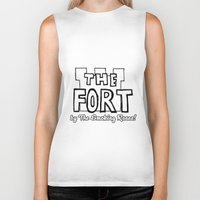 logo Biker Tanks featuring Logo by The Fort by The Smoking Roses!