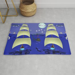 May against the Tide - shoes stories Rug