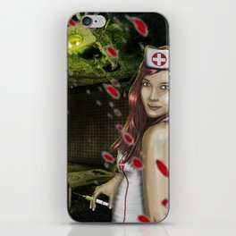 Chaotic Nurse iPhone Skin