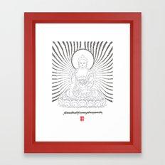 Lanameypey Toenpa - The Supreme Buddha Framed Art Print