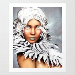 Burning Chill Art Print
