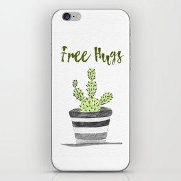 Hugs Please? iPhone Skin