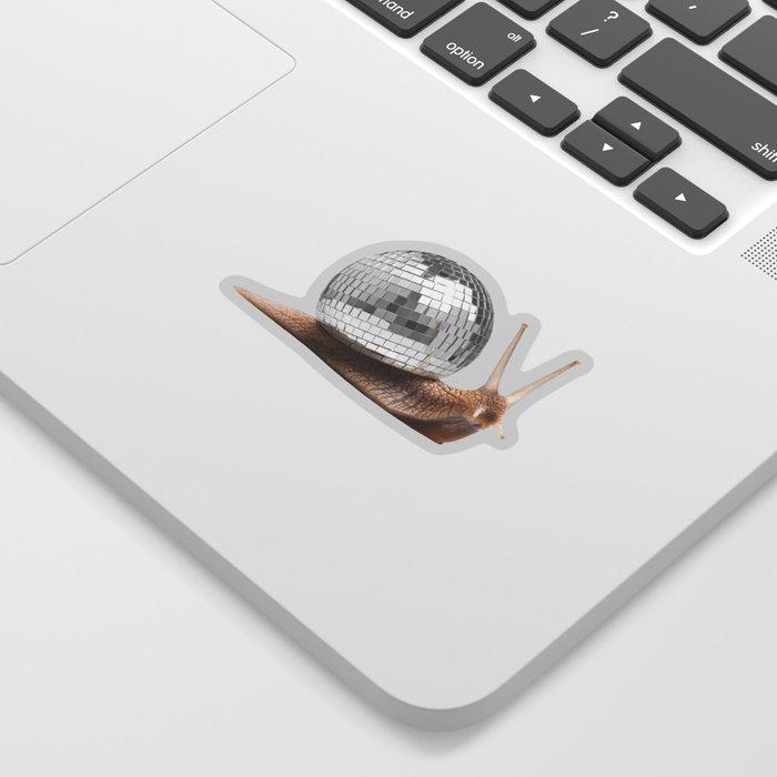 DISCO SNAIL Sticker