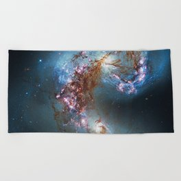 Antennae Galaxies NGC 4038, NGC 4039. Beach Towel