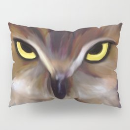 Owl Eyes Pillow Sham
