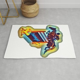 Colorful Grand Prix Horse Jumper Rug