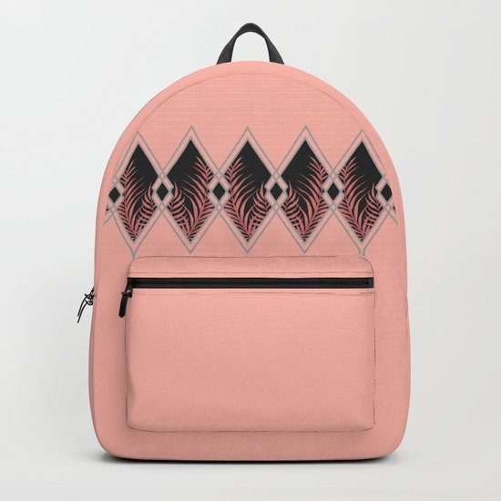 Pink Déco #society6 #decor #buyart Backpack