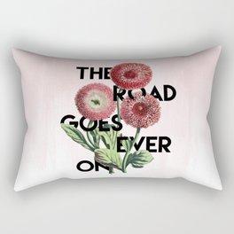 The Road  Rectangular Pillow