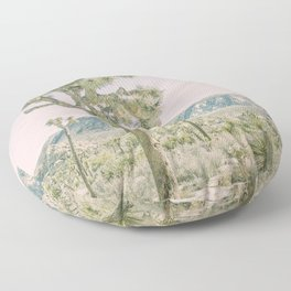 Joshua Tree Ombre Floor Pillow