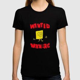 Wanted Maniac T-shirt