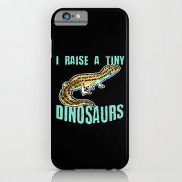 Funny Leopard Gecko Pet Lizard Lover Reptile Gift iPhone Case