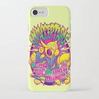 lemongrab iPhone & iPod Cases featuring LEMONGRAB: UNACCEPTABLE by BeastWreck