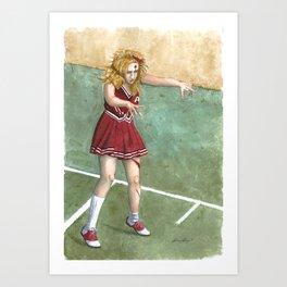The Cheering Dead Art Print